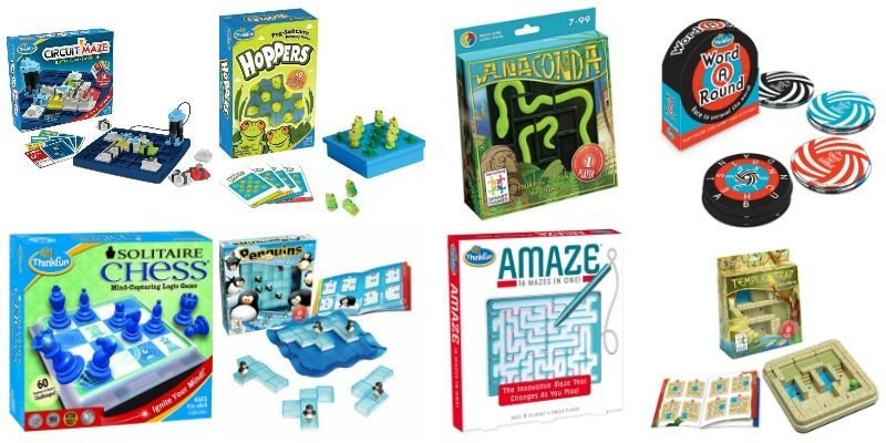 One Person Logic Games that Rock