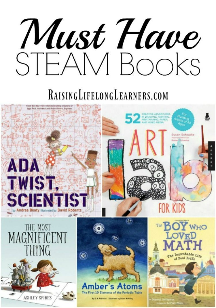 Are you a STEM - STEAM loving family? You are not going to want to miss this amazing selection of amazing STEAM books for kids. Check it out...