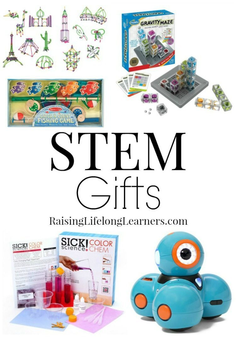 Are your kiddos like mine? My kids want a bunch of science and math games and toys this year. Check out these STEM gifts for science loving kids!