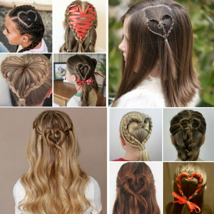 Surprising 50 Adorable Valentines Day Hairstyles For Girls Easy Hairstyles Schematic Wiring Diagrams Phreekkolirunnerswayorg