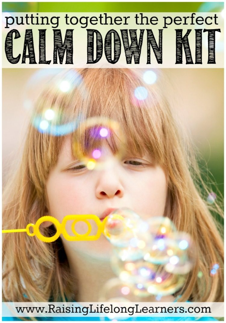 Even as adults we can sometimes feel uncomfortable being in a state of calm. Resting can feel unproductive. Combat that by putting together a calm down kit.