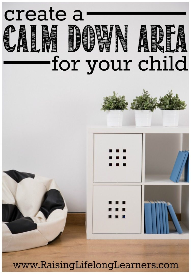 """Arrggghhhh! I'm so stupid! I just can't do this anymore!"" Our little one was overwhelmed again, and frustration was oozing out of her with every breath...  IF you've dealt with this too, now is the time to create a calm down area for your child."