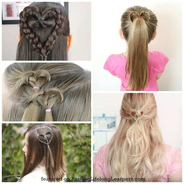 50 Adorable Valentines Day Hairstyles For Girls Easy Hairstyles