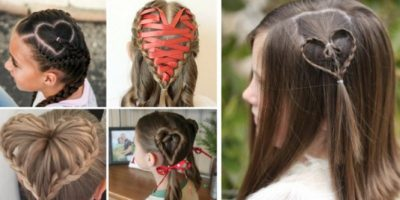 50 Adorable Valentine's Day Hairstyles for Girls