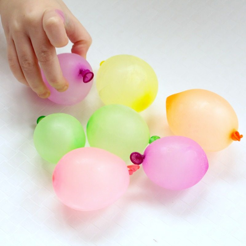 Use ice balloons to show preschoolers and older kids the basics of ice science. Winter science has never been more fun than this!