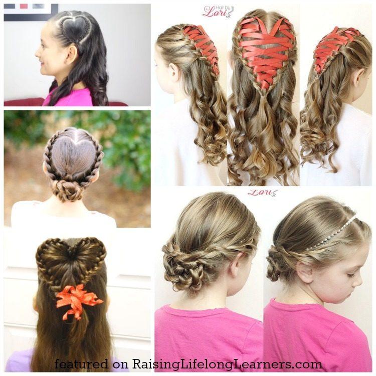 Stupendous 50 Adorable Valentine39S Day Hairstyles For Girls Easy Hairstyles Short Hairstyles For Black Women Fulllsitofus