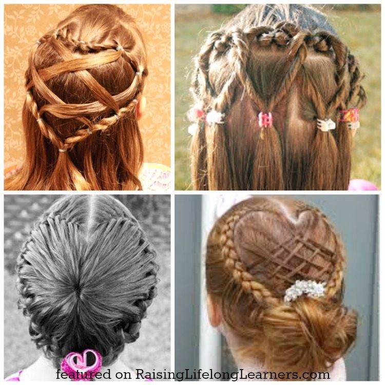 50 Adorable Valentines Day Hairstyles for Girls