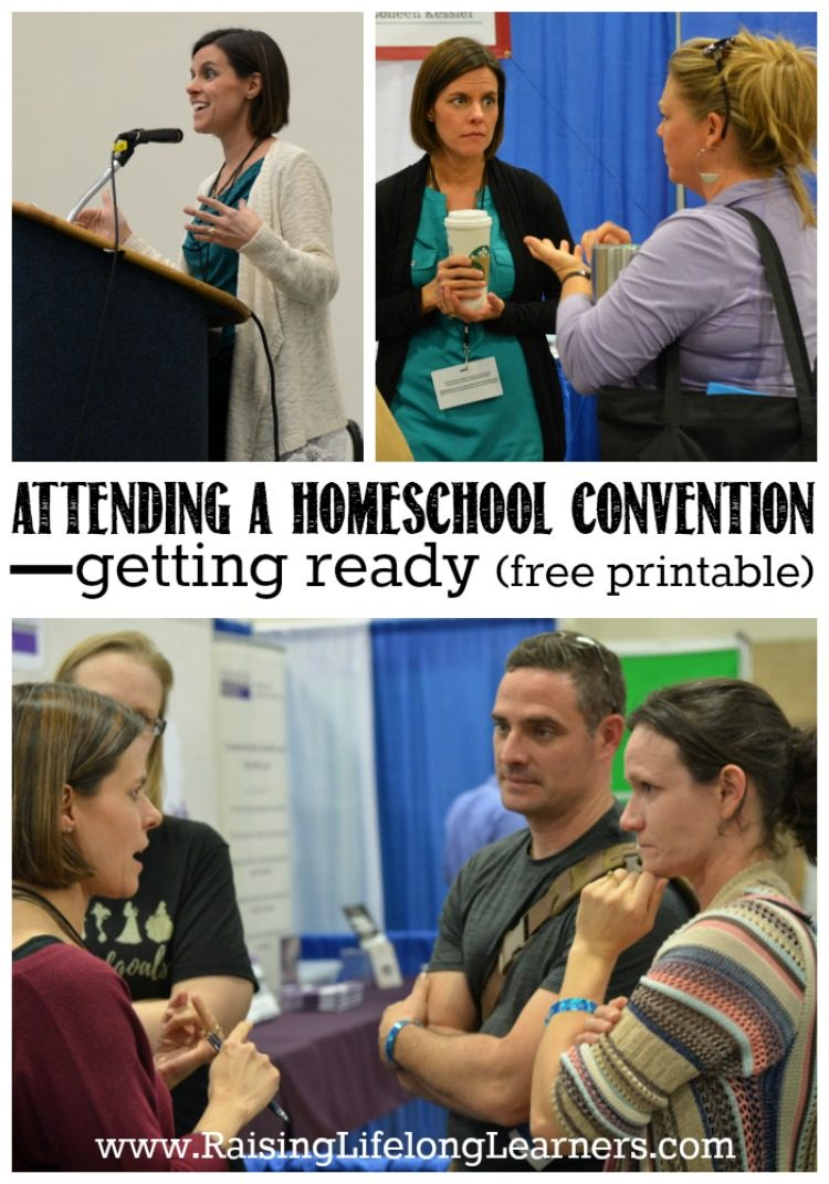 Attending a Homeschool Convention | Free Printable