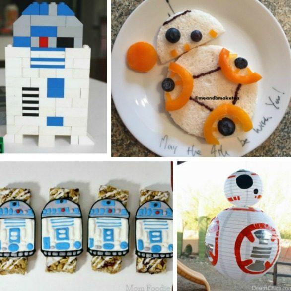 R2-D2 & BB-8 Recipes & Activities