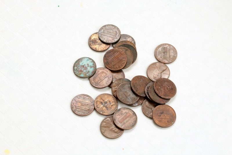 Try your hand at classic science with the cleaning pennies science experiment. Kids will be amazed at how this simple chemical reaction transforms pennies!