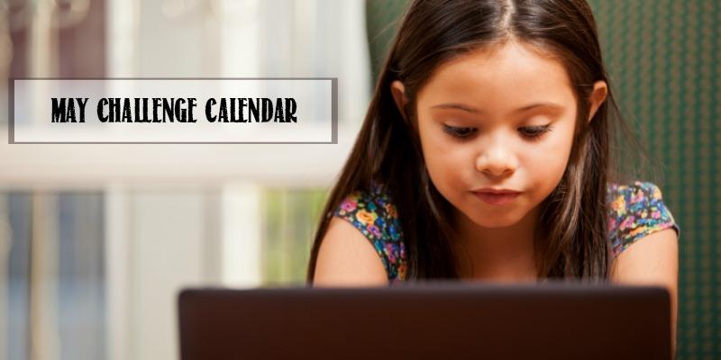 Minecraft Challenge Calendar | Free May Download