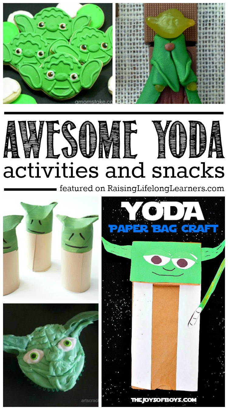 Awesome Yoda Activities and Snacks