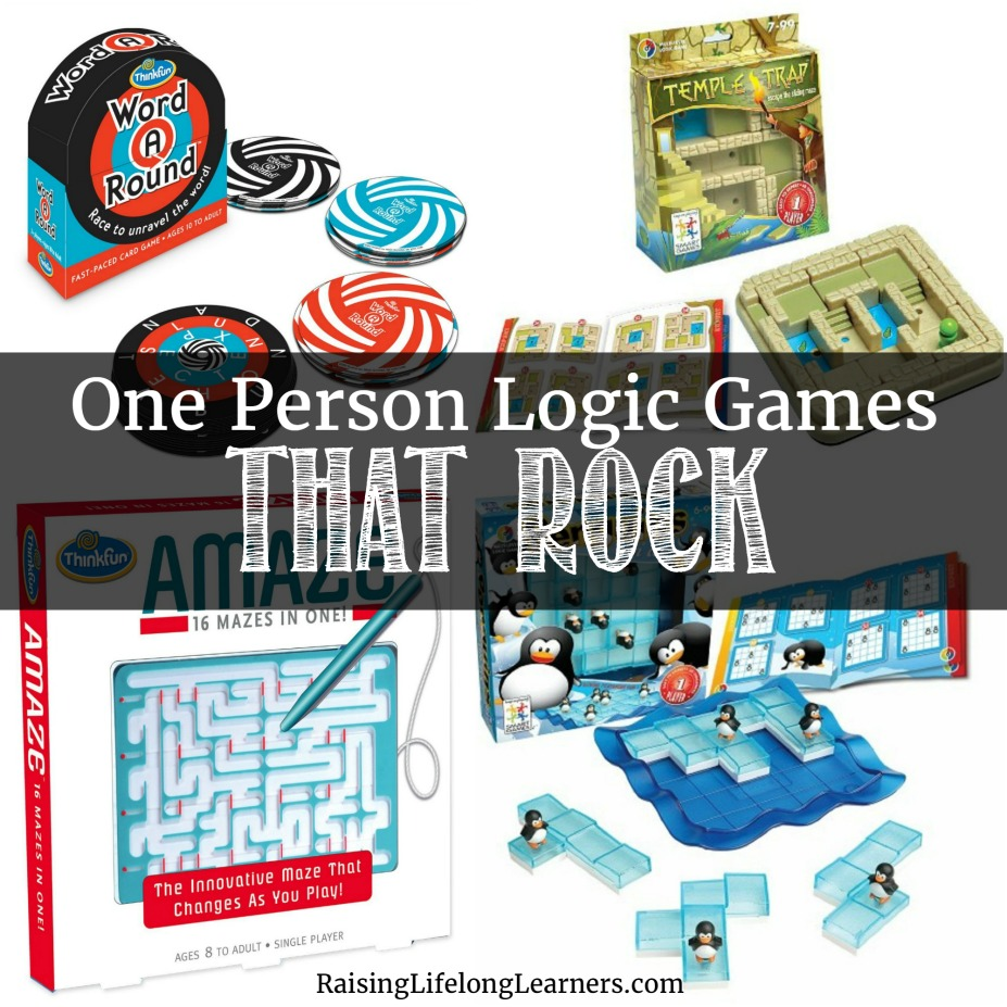 Learning Through Play With One Person Logic Games That Rock Circuit Maze Thinkfun