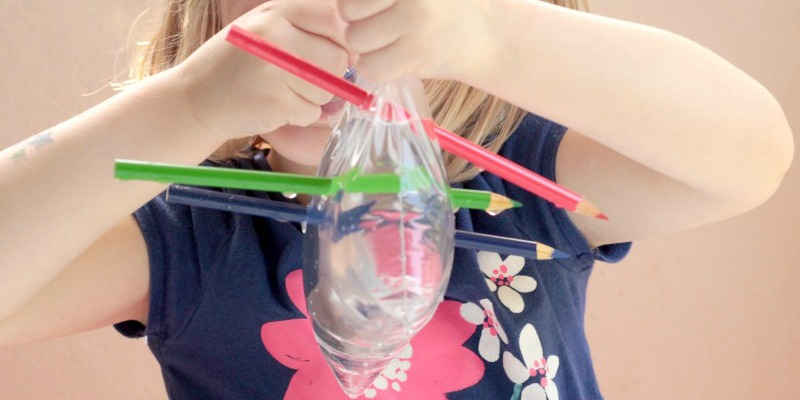 Leak Proof Bag: Quick Science Experiment for Kids