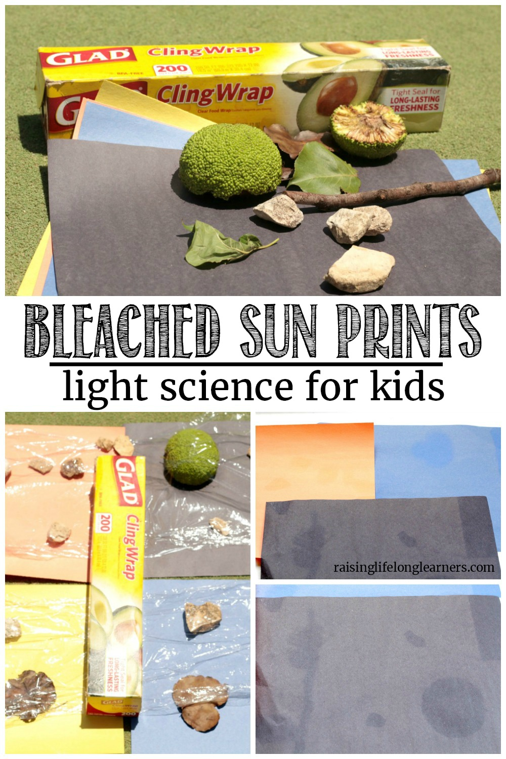 Learn about the sun and have fun outdoors at the same time in this super fun science project! Make sun prints and learn all about the power of UV rays.