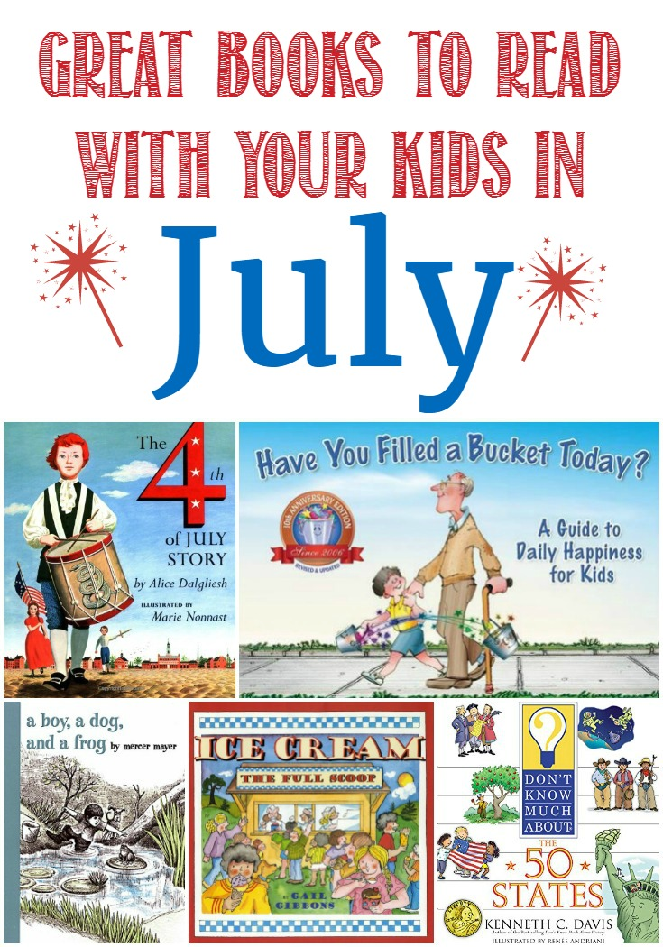 Great Books to Read With Your Kids in July