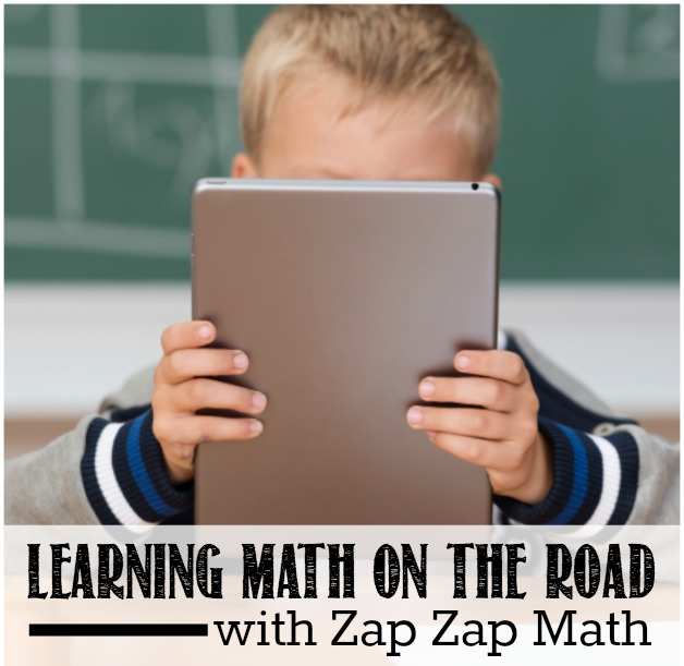 Learning Math on the Road with Zap Zap Math