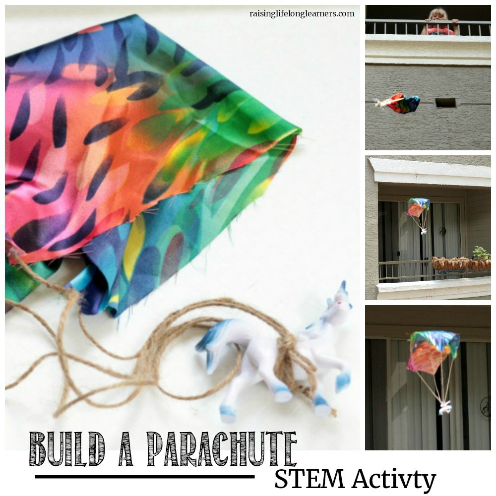 If your kids love building and discovering, they will love this parachute engineering challenge. Try to build a parachute that works!