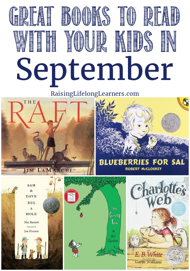 Great Books to Read With Your Kids in September - Raising Lifelong Learners