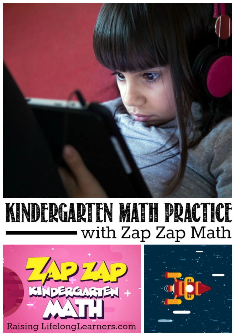 Kindergarten Math Practice with Zap Zap Kindergarten App