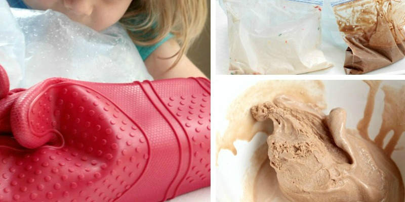 Ice Cream in a Bag: Exothermic Reactions