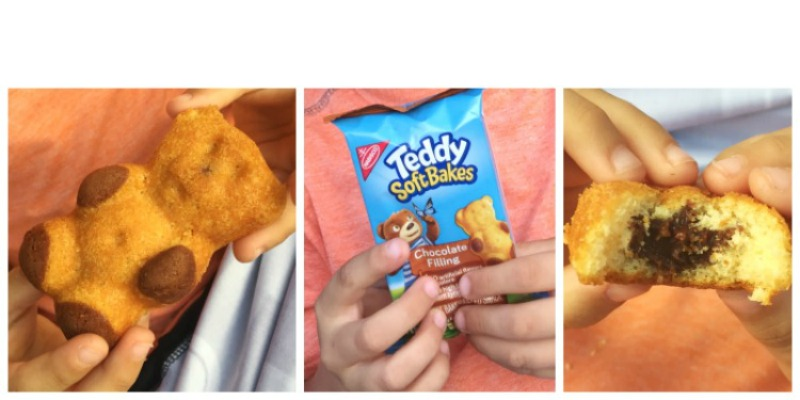 TEDDY SOFT BAKED Filled Snacks | A Super Easy Snack for Littles