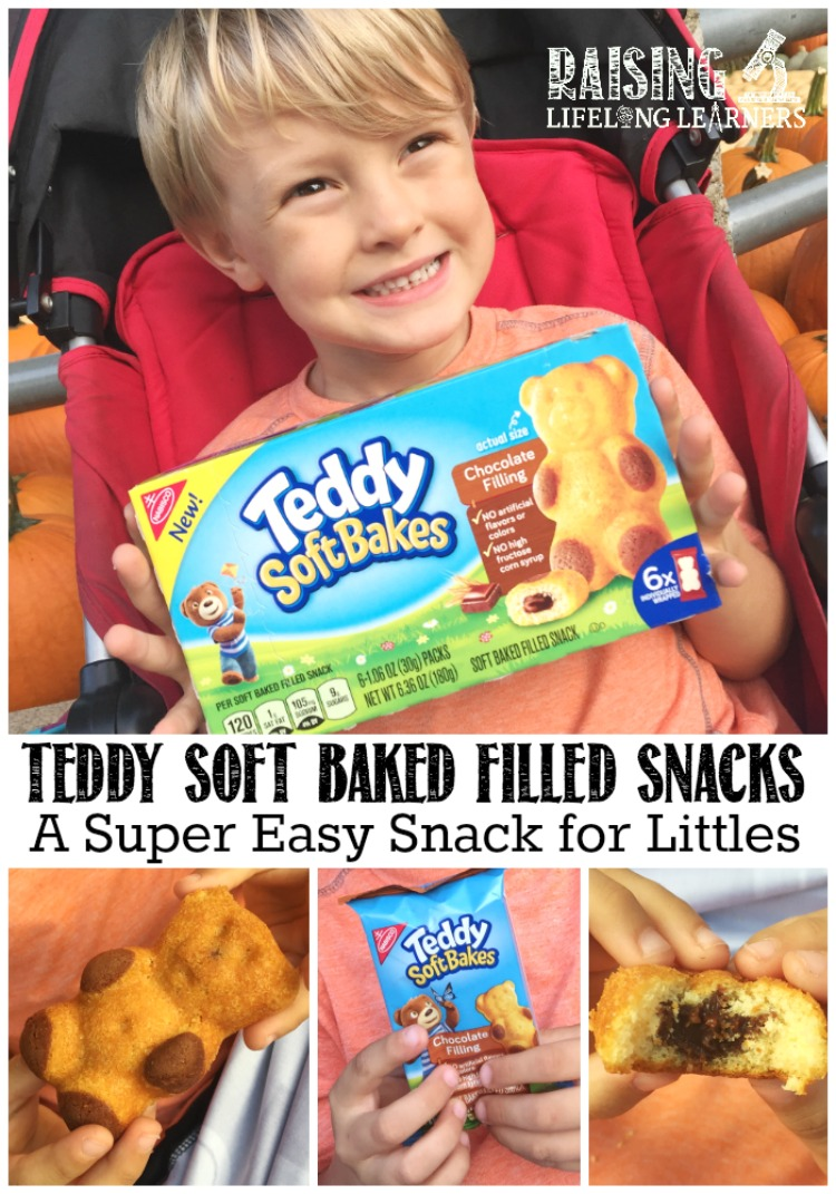 TEDDY SOFT BAKE Filled Snacks - Perfect Snack Cakes ad