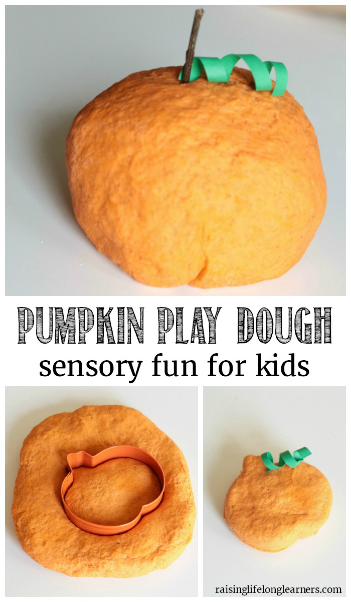 Pumpkin Play Dough - Easy Sensory Fun for Kids