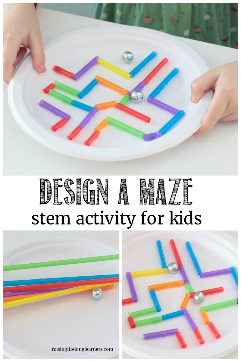 Make A Paper Plate Maze Stem Challenge A Learning Activity For Kids