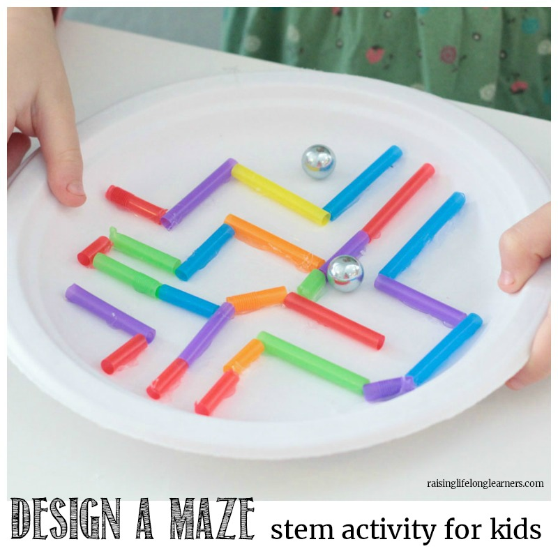 Make a Paper Plate Maze STEM Challenge | A Learning Activity