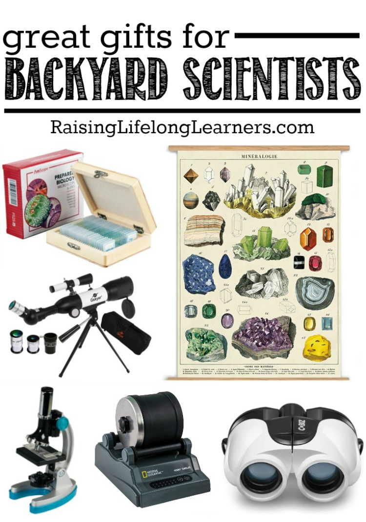 Gifts for Backyard Scientists Pin