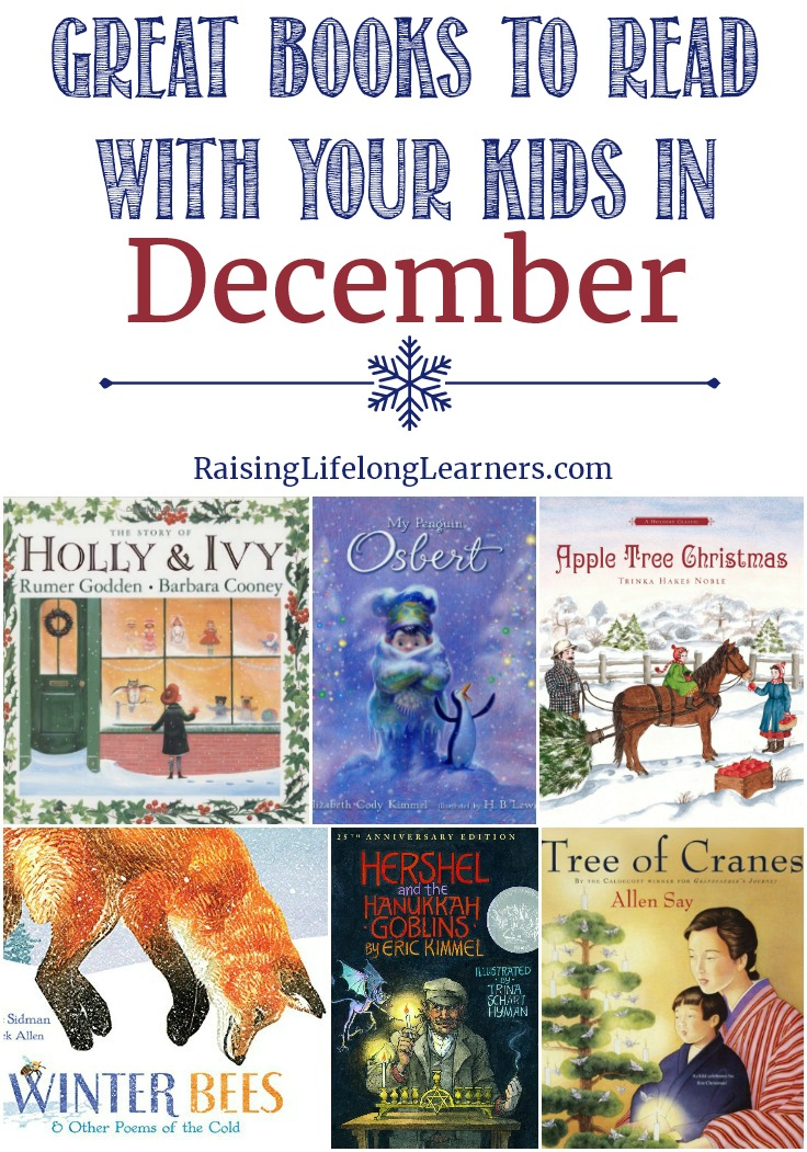 Great Books to Read With Your Kids in December - Raising Lifelong Learners
