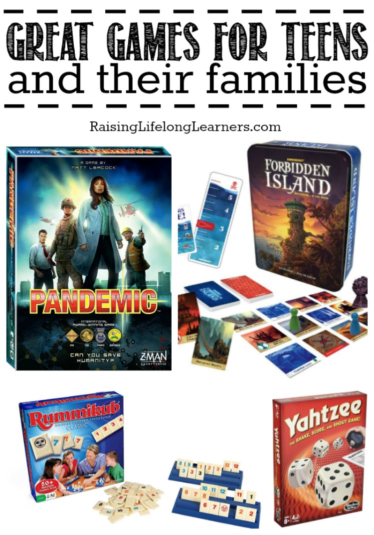 Great Games for Teens and Their Families