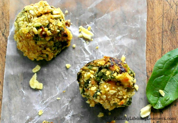 Cheesy Spinach Bites Recipe