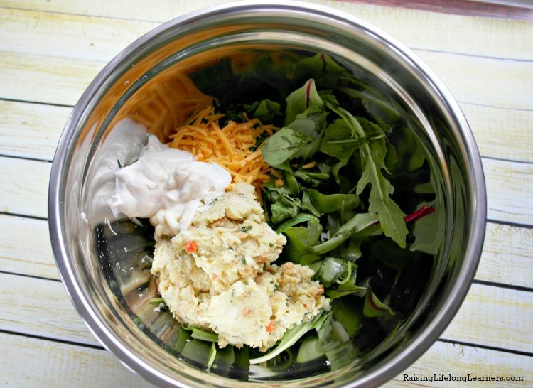 Cheesy Spinach Bites Recipe