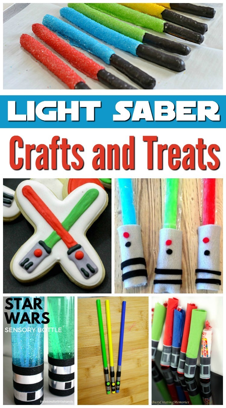 Light Saber Crafts and Treats