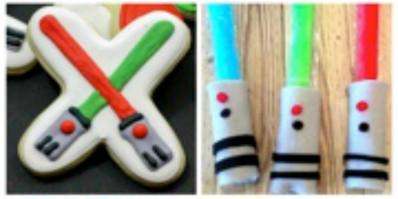 Light Saber Crafts and Treats for Your Star Wars Fan