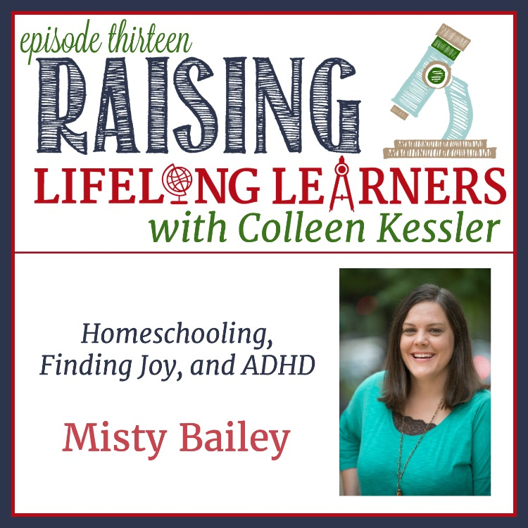 In this episode of the Raising Lifelong Learns podcast, Misty and Colleen talk about homeschooling, finding the great moments, and about the tough choice to medicate or not. You'll hear two very different experiences with meds and, hopefully, will be reassured that it's a personal decision, and what's right for one isn't always right for another. You're doing a great job parenting your differently-wired kids -- remember that and trust yourself.