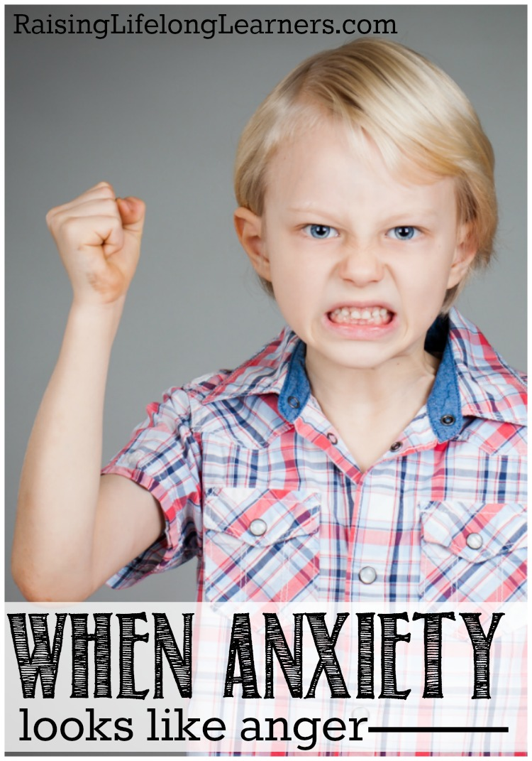 When Anxiety Looks Like Anger -- Helping Kids Identify Emotions~Increased heart rate, fight-or-flight response engaged, flushed face, tense body - he wasn't angry, he was anxious. Anxiety doesn't always look like we think it will, especially in our kids. Sometimes it looks like anger. Here's how we can help our anxious kiddos...