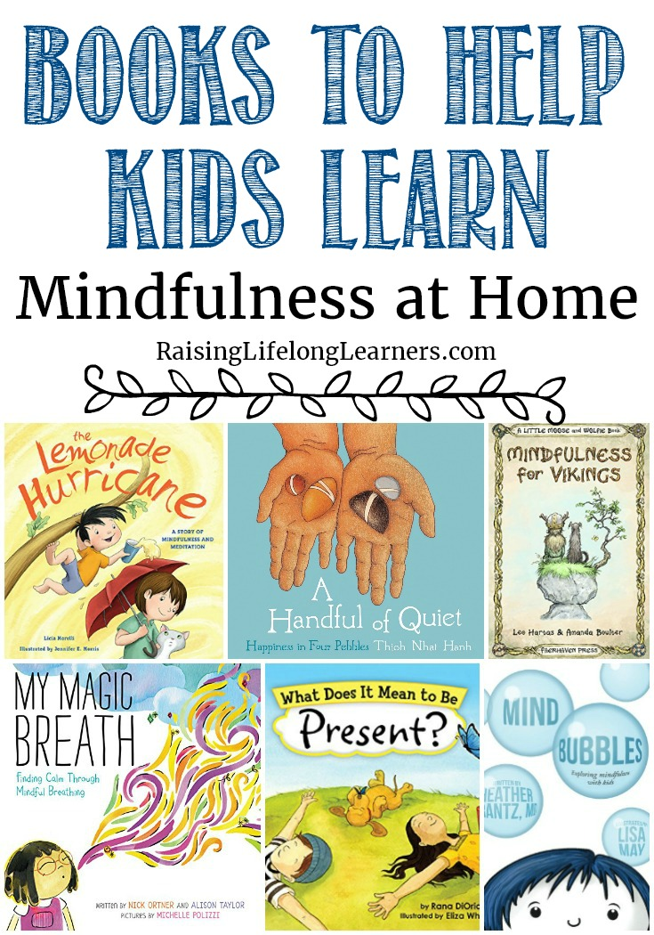 Books to Help Kids Learn Mindfulness at Home