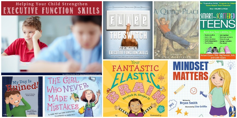 The Best Books for Teaching About Executive Functions Skills