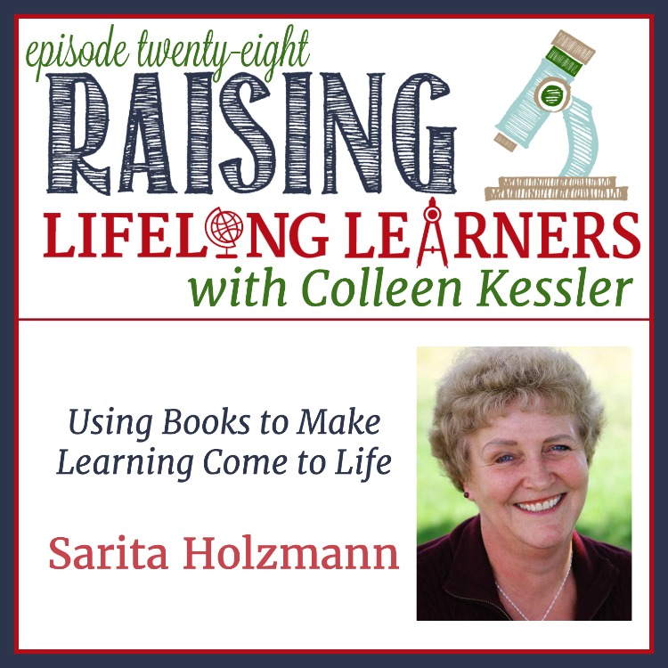 Books can be a great way to get kids excited about learning. GREAT literature can go even further and make learning come alive for the whole family. Raisinglifelonglearners.com #homeschool #homeschooling #literature #books #greatbooks #Sonlight