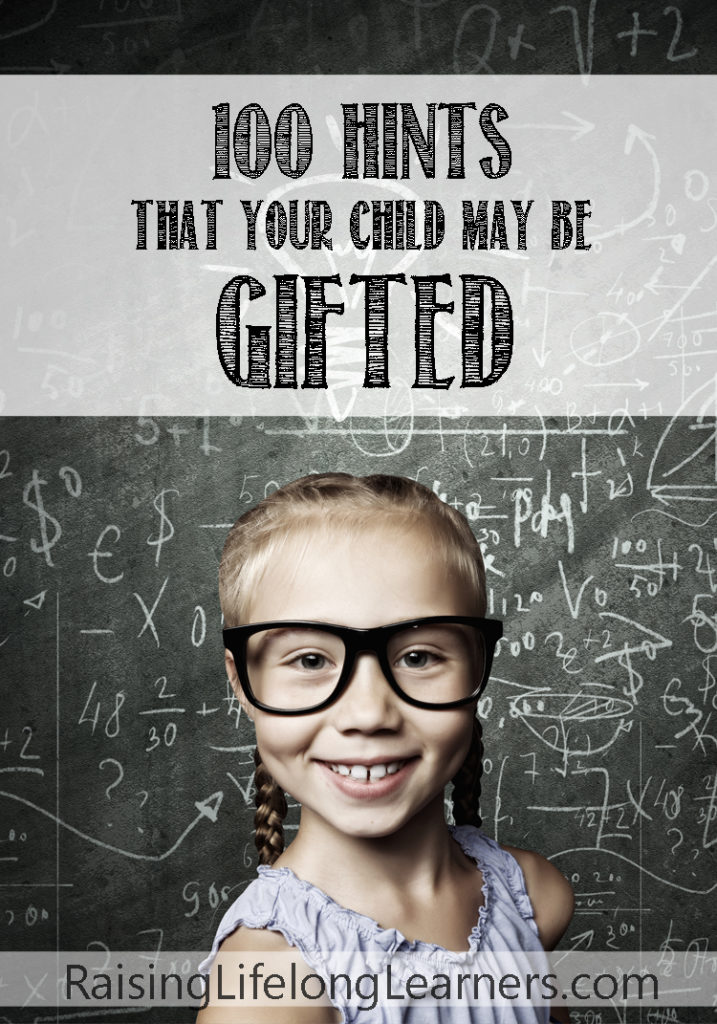 There is a growing community of support for gifted children, but still a lot of murky information about how to actually tell if your child is gifted. ~Raising Lifelong Learners #gifted