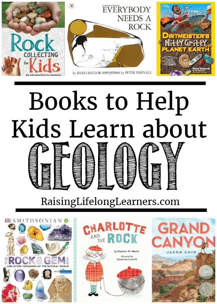 These geology books are great to use as educational resources and fun read alouds! Check them out and let me know which favorites are missing from the list. #Geology #Greatbooks