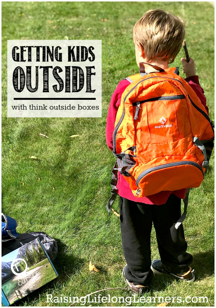 I've been looking for a way to get us actively outside on the trails on a regular basis. Think Outside Boxes is the answer to that search for our family...
