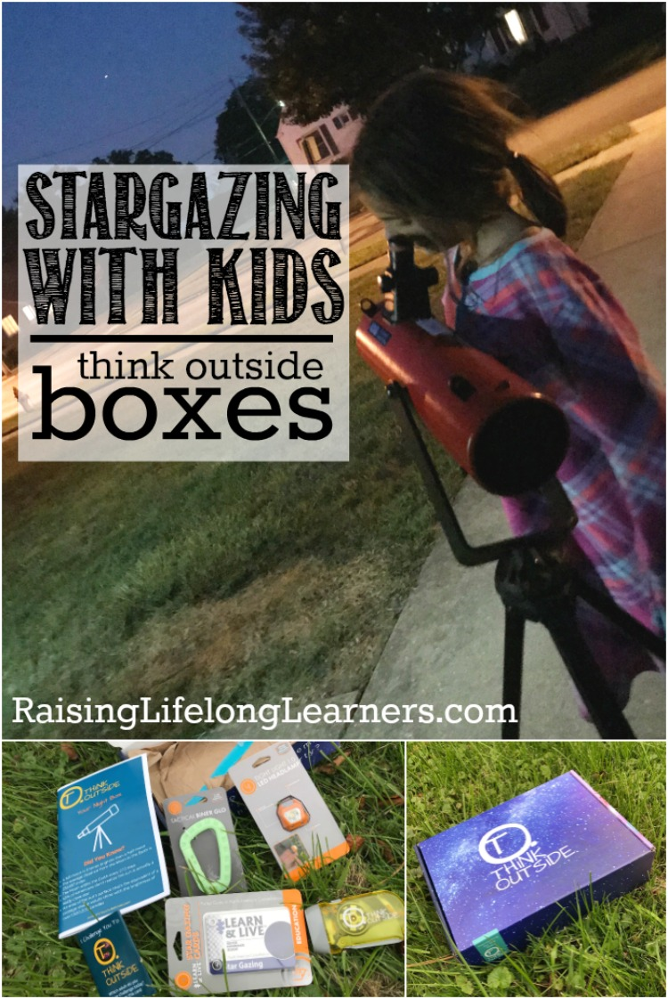Typically we think of stargazing and night hikes as a springtime activity, but the fall is a beautiful time of the year to head out into the night. ~Raising Lifelong Learners #stargazing