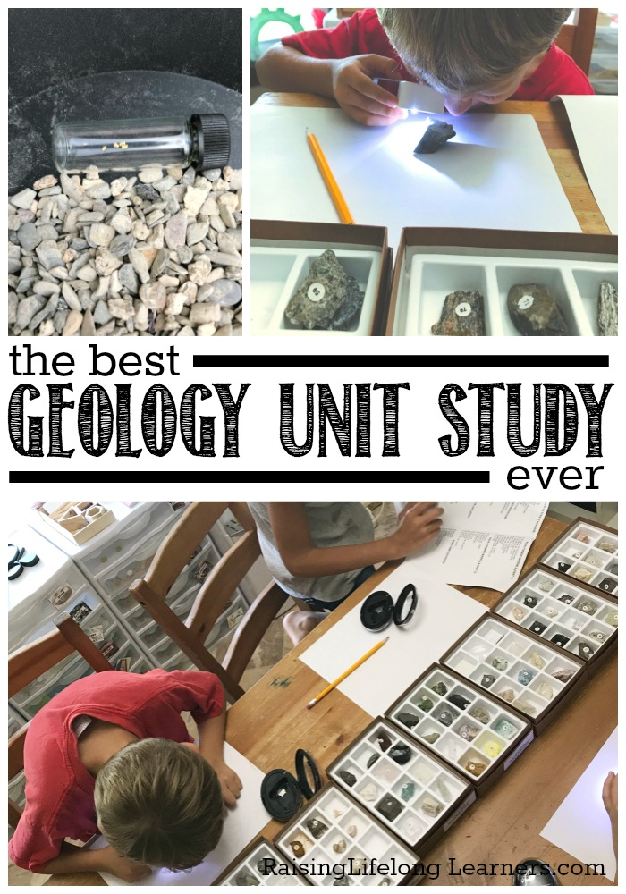 It's easy and fun to pull together a crazy-good homeschool geology unit study with the right materials and lots of hands-on activities!