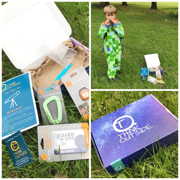 Stargazing with Kids - Think Outside Boxes
