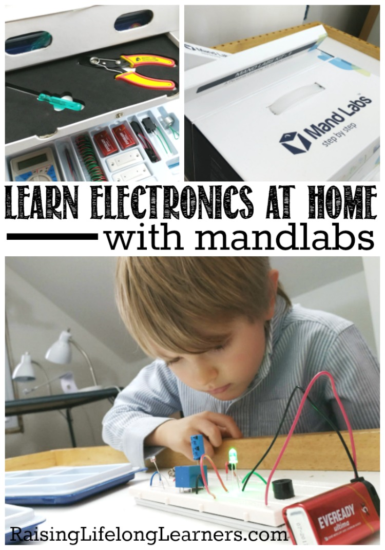 Learn Electronics at Home with Mandlabs