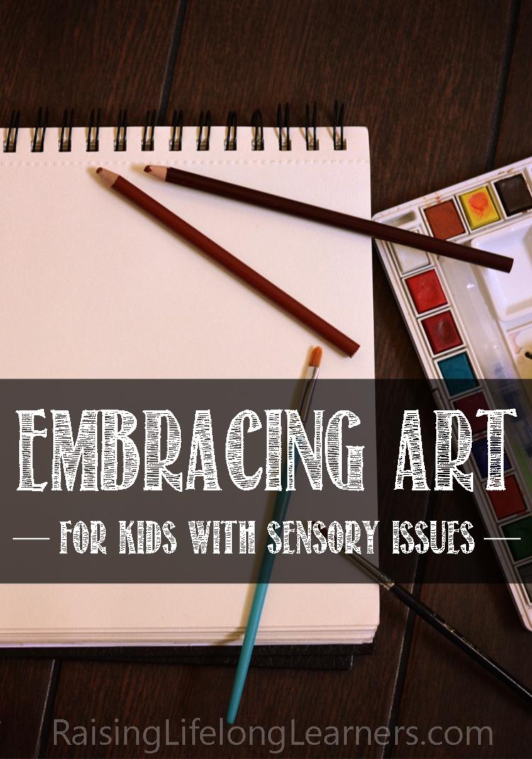 art history kids sensory issues